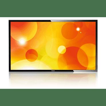 Monitor profissional LFD TFT Philips de 65 polegadas BDL6520QL Full HD, Brilho 350 cd/m², 6,5 ms, 178 grau, RJ45, RS232, DisplayPort, DVI, VGA Smart Insert,USB, 2 HDMI , DVI-D, RCA