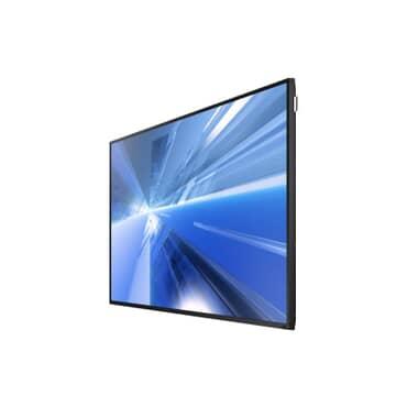 """DM48E Monitor Profissional Samsung TFT LFD LED 48"""" polegadas, LH48DMEPLGV/ZD, uso 27 x 7, brilho 450 nit, função Picture Quality ,reprodutor de mídia integrado ,MagicInfo S3, integrado ,Wi-Fi i, full HD, D-SUB Analógico, DVI-D HDMI, DP1.2 Loop-out,HDMI1,"""