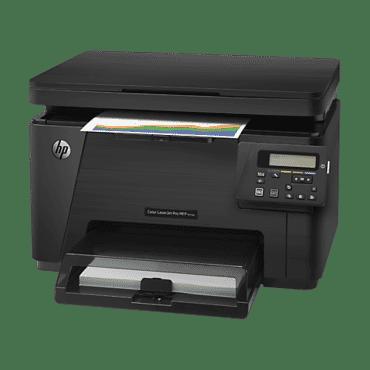 MULTIFUNCIONAL HP LASERJET COLOR M176N, Copiadora,Impressora,Scanner, USB 2.0, Fast Ethernet, impressão 2400 dpi,ciclo mensal 20000,CF547A,preto 16 ppm,color 4 ppm,tela LCD,resolução de cópia 600 x 600 dpi
