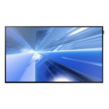 "Monitor Profissional LFD Samsung TFT Smart Signage DM55E, Full HD 55"" polegadas, 450 nit, 5000:1, 178 graus, Pivot, Player e Áudio, WiFi, Vídeo Wall, Bordas 0,95x1,5cm, 24x7, VGA, DVI, DP, HMDI, RS232, USB, VESA, Bivolt, Garantia 3 anos LH55DMEPLGV/ZD"