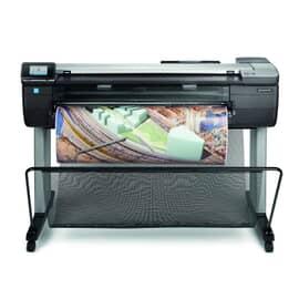 """Plotter Impressora multifuncional HP DesignJet T830, Wi-Fi, Imprimir, copiar, digitalizar, 914 mm,36"""" pol, Alimentação folha e rolo, bandeja de entrada e mídia, cortador, Até 2400 x 1200 dpi otimizados, Gigabit, A4, A3, A2, A1, A0 , USB 2.0 ,F9A30A"""